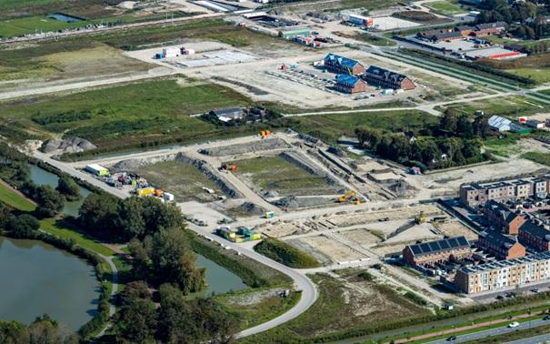 Parkrijk RijswijkBuiten Infrastructuur overzichtsfoto